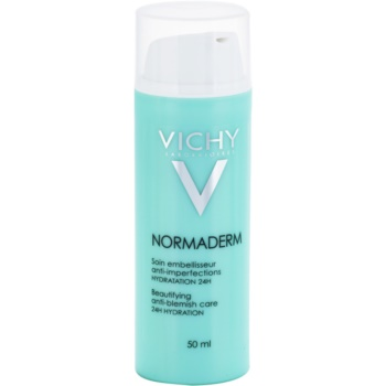 Vichy Normaderm Beautifying Moisturiser Fluid For Adults Prone To Skin Imperfections 24 H 1.7 Oz