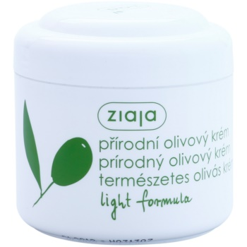 Ziaja Natural Olive Moisturizing Day Cream For Normal And Dry Skin (Light Formula) 6.7 oz