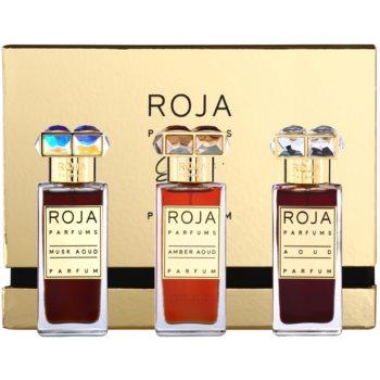 Roja Parfums Aoud Parfum de Voyage set cadou I. - Aoud + Musk Aoud + Amber Aoud