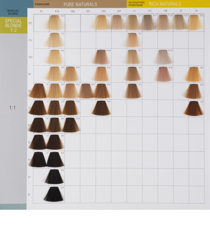 Wella Hair Color Chart Koleston Perfect 4188298 Girlietalkfo