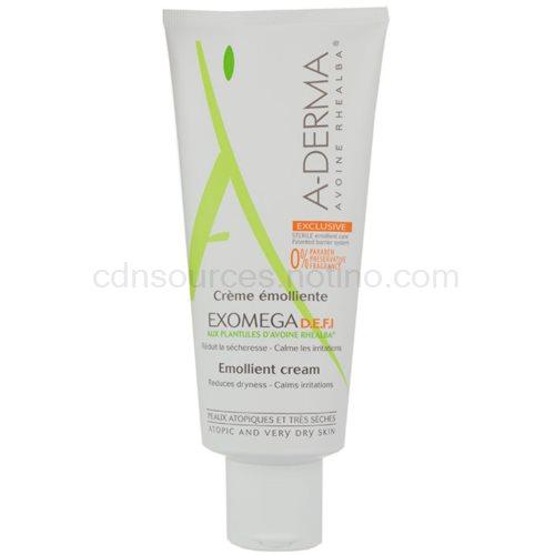 A-Derma Exomega krém pro velmi suchou citlivou a atopickou pokožku D.E.F.I (Emollient Cream) 200 ml