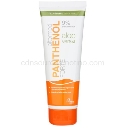 Altermed Panthenol Forte tělové mléko s aloe vera (Body Milk - 9% D-panthenol, 40% Aloe Vera) 230 ml