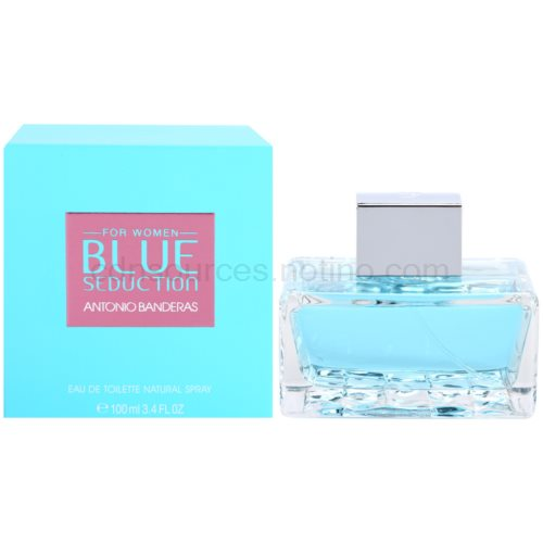 Antonio Banderas Blue Seduction for Women 100 ml toaletní voda