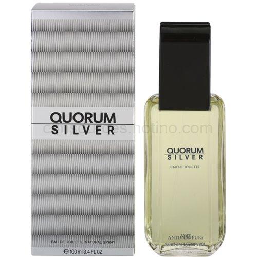 Antonio Puig Quorum Silver 100 ml toaletní voda