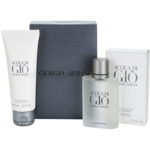 Armani Acqua di Gio Pour Homme 3 ks dárková sada