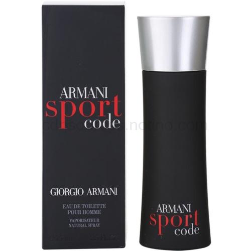Armani Code Sport 75 ml toaletní voda
