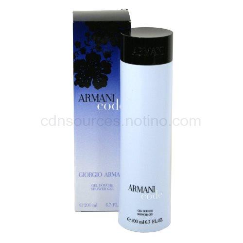 Armani Code Woman 200 ml sprchový gel