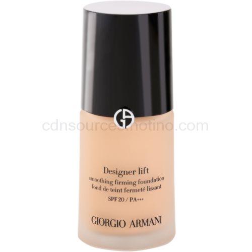Armani Designer Lift liftingový a zpevňující make-up odstín 5 Warm Beige SPF 20 (Smoothing Firming Foundation) 30 ml