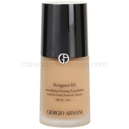 Armani Designer Lift liftingový a zpevňující make-up odstín 8 Caramel SPF 20 (Smoothing Firming Foundation) 30 ml