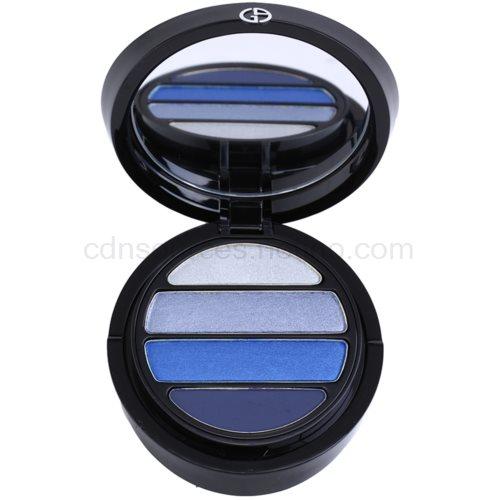 Armani Eyes To Kill Quad oční stíny odstín 5 Mediterranea (4 Color Eyeshadow Palette) 4 g
