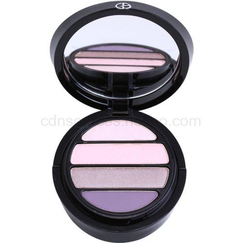 Armani Eyes To Kill Quad oční stíny odstín 8 Parma (4 Color Eyeshadow Palette) 4 g