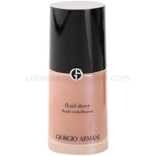 Armani Fluid Sheer rozjasňující make-up odstín 03 Copper 30 ml