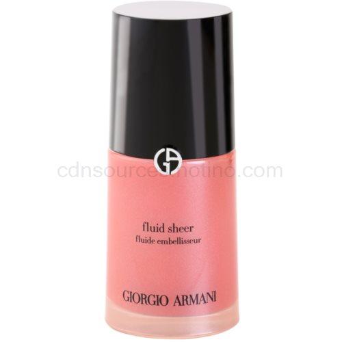 Armani Fluid Sheer rozjasňující make-up odstín 06 Blossom 30 ml