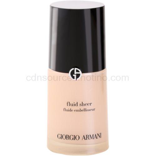 Armani Fluid Sheer rozjasňující make-up odstín 07 30 ml