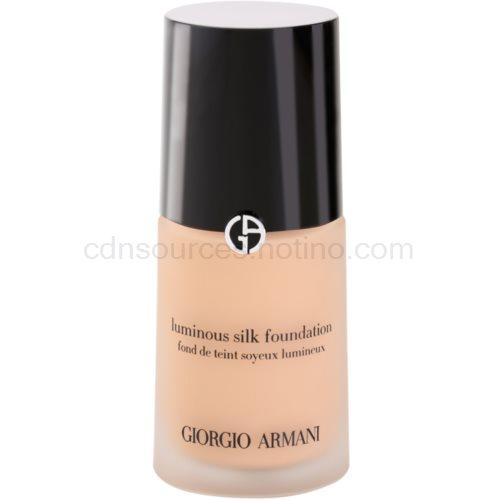 Armani Luminous Silk Foundation fluidní make-up odstín 5 Warm Beige 30 ml
