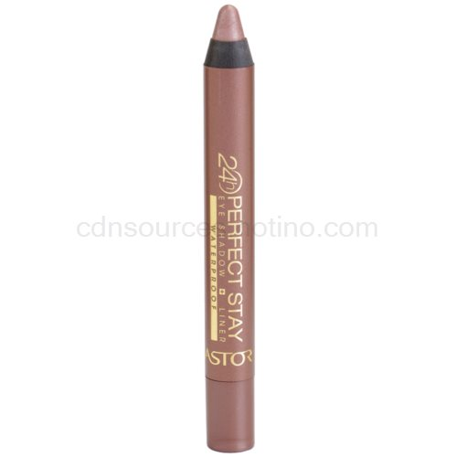 Astor Perfect Stay 24H oční stíny a tužka na oči voděodolné odstín 100 Creamy Taupe 4 g