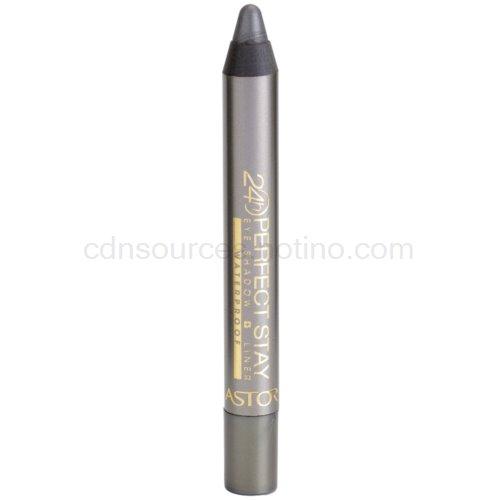 Astor Perfect Stay 24H oční stíny a tužka na oči voděodolné odstín 710 Cosmic Grey 4 g