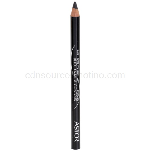 Astor Khol Kajal & Contour tužka na oči odstín 080 Black 2 g