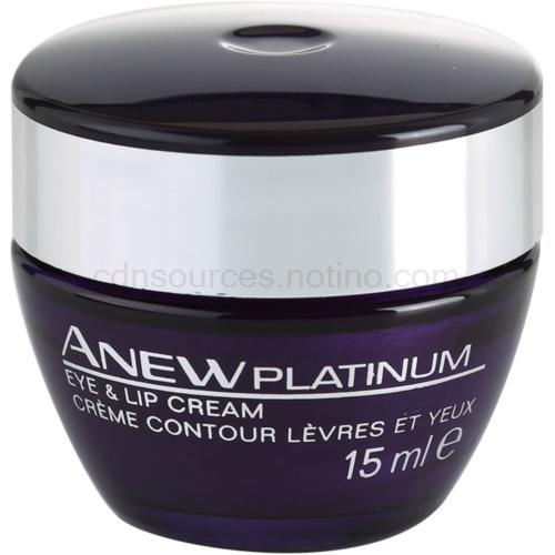 Avon Anew Platinum krém na oční okolí a rty (Eye and Lip Cream) 15 ml