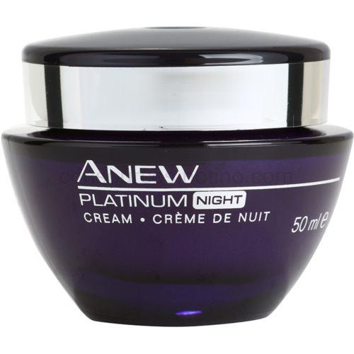 Avon Anew Platinum noční krém proti hlubokým vráskám (Night Cream) 50 ml