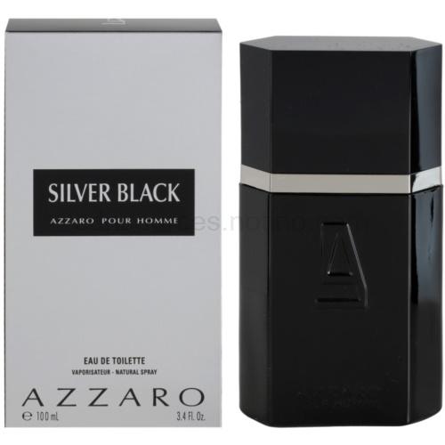 Azzaro Silver Black 100 ml toaletní voda