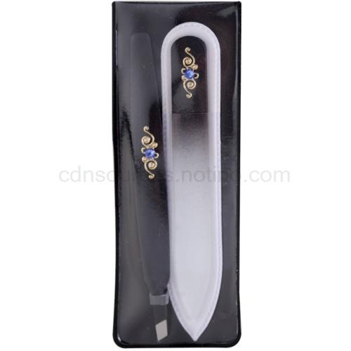 Bohemia Crystal Bohemia Swarovski Nail File and Tweezers V. 1 Ks