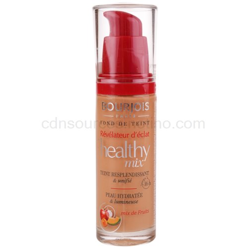 Bourjois Healthy mix Radiance Reveal rozjasňující tekutý make-up odstín 57 Halé 30 ml