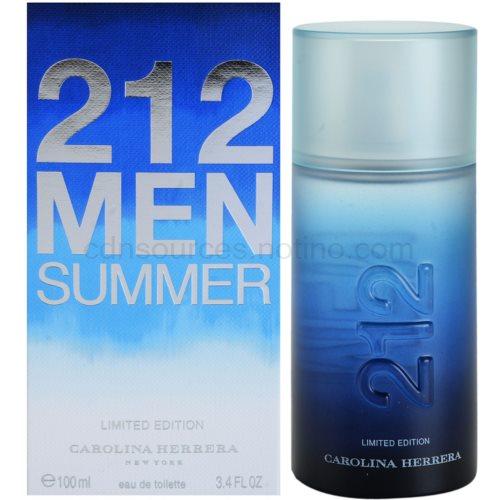 Carolina Herrera 212 Men Summer 100 ml toaletní voda