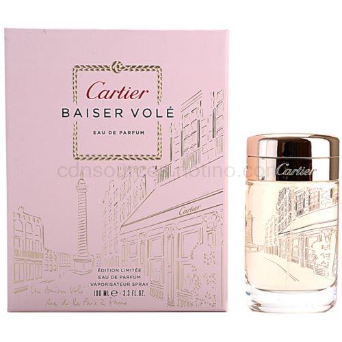 Cartier Baiser Volé D´Amour Limited Edition 100 ml parfémovaná voda