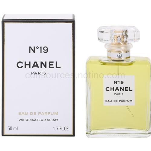 Chanel No.19 50 ml s rozprašovačem parfémovaná voda