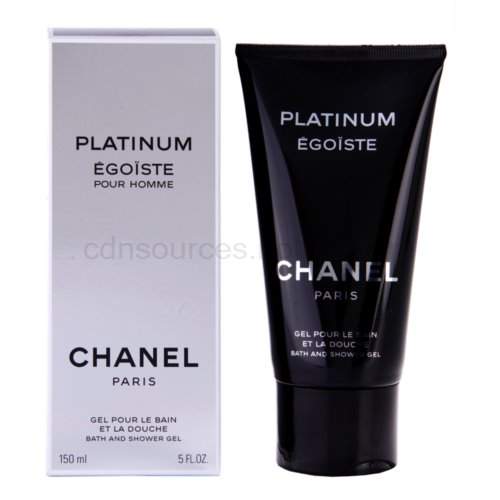 Chanel Egoiste Platinum 150 ml sprchový gel