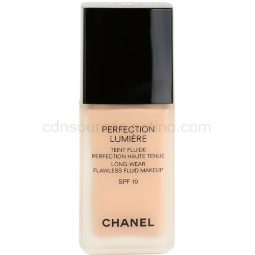 Chanel Perfection Lumiére fluidní make-up pro perfektní vzhled odstín 22 Beige Rose (Long-Wear Flawless Fluid Makeup) 30 ml