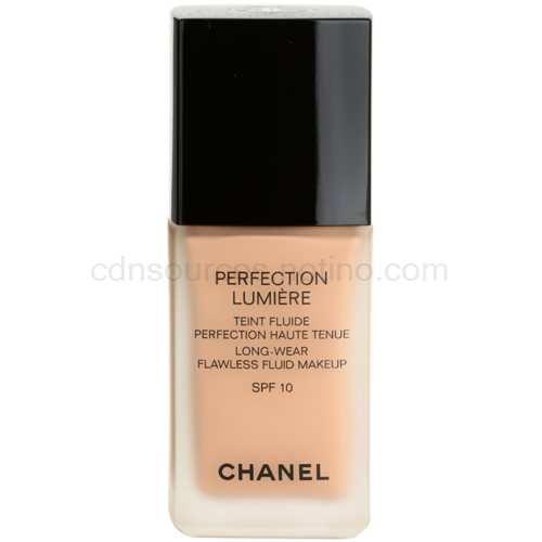 Chanel Perfection Lumiére fluidní make-up pro perfektní vzhled odstín 42 Beige Rose (Long-Wear Flawless Fluid Makeup) 30 ml