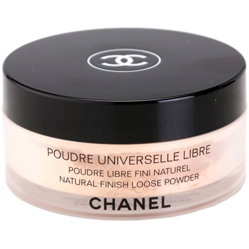 Chanel Poudre Universelle Libre sypký pudr pro přirozený vzhled odstín 25 Peche Clair 30 g