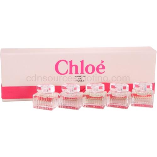 Chloé Parfum de Roses 5 Ks Chloé + Chloé Parfum de Roses + L'Eau de Chloé dárková sada