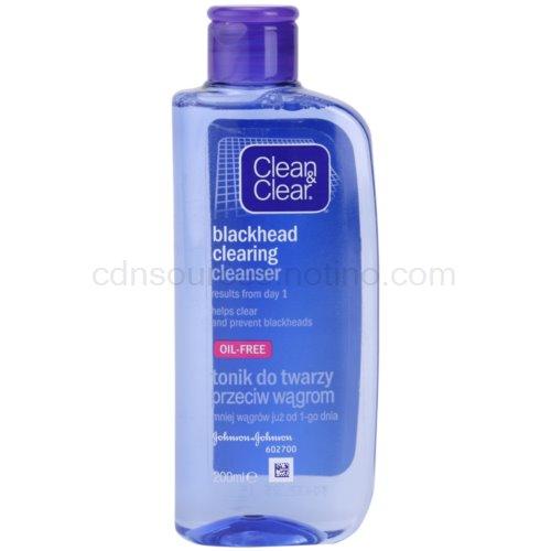 Clean & Clear Blackhead Clearing pleťová voda proti černým tečkám (Cleanser) 200 ml