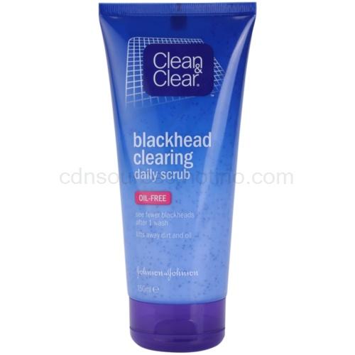 Clean & Clear Blackhead Clearing čisticí peeling proti černým tečkám (Daily Scub) 150 ml