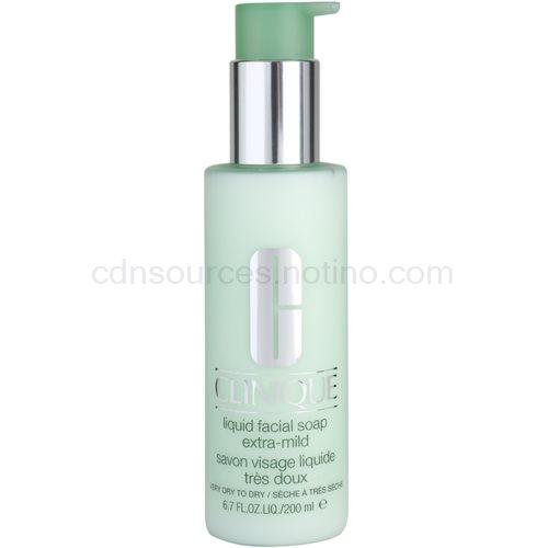 Clinique 3 Steps čisticí mýdlo pro suchou až velmi suchou pleť (Liquid Facial Soap Extra Mild) 200 ml