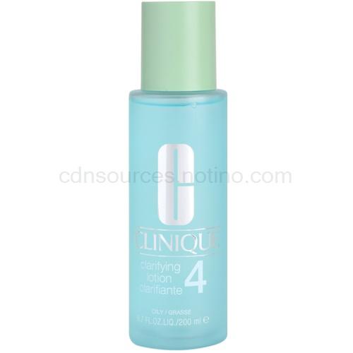 Clinique 3 Steps tonikum pro mastnou pleť (Clarifying Lotion Clarifiante 4) 200 ml