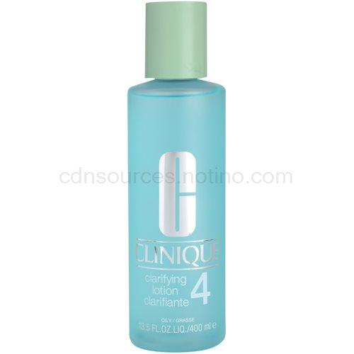 Clinique 3 Steps tonikum pro mastnou pleť (Clarifying Lotion Clarifiante 4) 400 ml