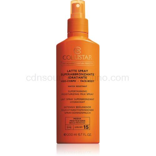 Collistar Sun Protection mléko na opalování ve spreji SPF 15 200 ml