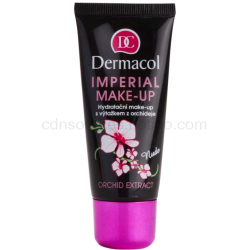 Dermacol Imperial Imperial hydratační make-up s výtažkem z orchideje odstín Nude (Moisturizing Make-Up with Orchid Extract) 30 ml