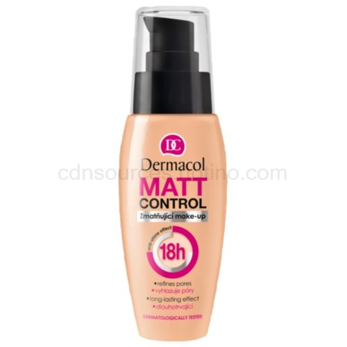 Dermacol Matt Control zmatňující make-up 02 30 ml