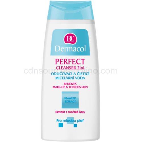 Dermacol Perfect micelární čisticí voda pro mladou pleť 200 ml