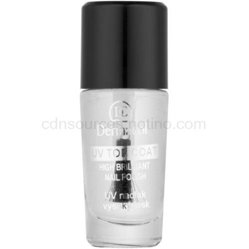 Dermacol UV Top Coat průhledný lak na nehty 10 ml