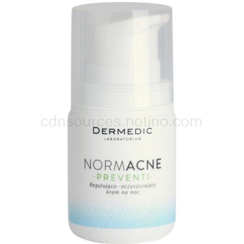 Dermedic Normacne Preventi noční regulační a čisticí pleťový krém 55 g