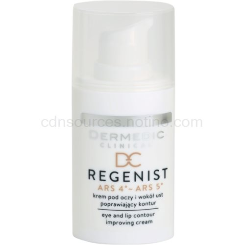 Dermedic Regenist ARS 4°- ARS 5° krém proti vráskám na oční okolí a rty 15 g
