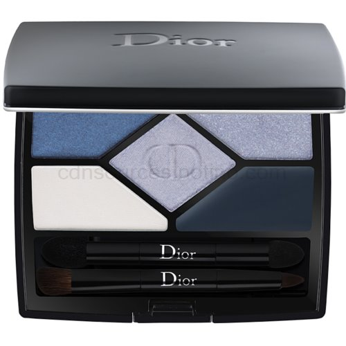 Dior 5 Couleurs Designer paleta očních stínů odstín 208 Navy Design 4,4 g