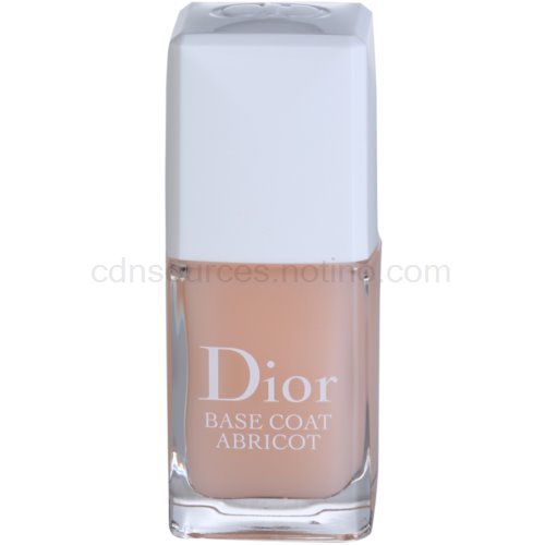 Dior Base Coat Abricot podkladový lak na nehty (Protective Nail Care Base Fortifying and Hardening) 10 ml