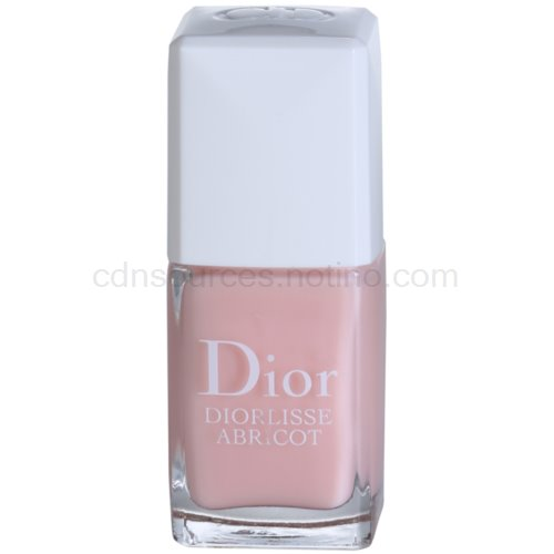 Dior Diorlisse Abricot posilující lak na nehty odstín 500 Pink Petal (Smoothing Perfecting Nail Care) 10 ml